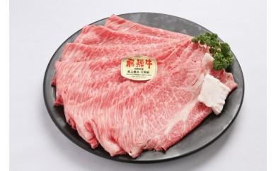 B-021 特選飛騨牛A5等級肩ロース肉すき焼き 急速冷凍 600g (しゃぶしゃぶ対応可能) 《岐阜県山県市》
