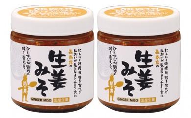 [№5927-0151]生姜味噌2本セット