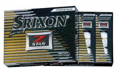 29-02f-006.SRIXON Z-STAR ゴルフボール(プレミアムホワイト×2)