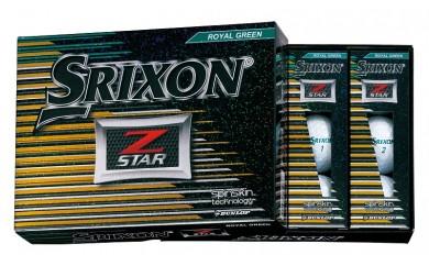 29-02f-007.SRIXON Z-STAR ゴルフボール(ロイヤルグリーン×2)