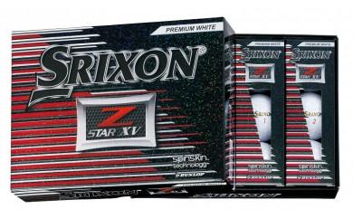 29-02f-009.SRIXON Z-STAR XV ゴルフボール(プレミアムホワイト×2)