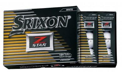29-02f-005.SRIXON Z-STAR ゴルフボール(ホワイト×2)