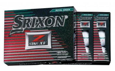 29-02f-010.SRIXON Z-STAR XV ゴルフボール(ロイヤルグリーン×2)