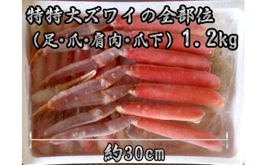 20-53 【期間・数量限定】ズワイガニ鍋セット(3人前)