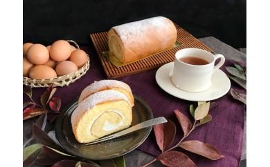 N3810 「プレーンロールケーキ」【九州 自然のめぐみ×パティスリー麓】