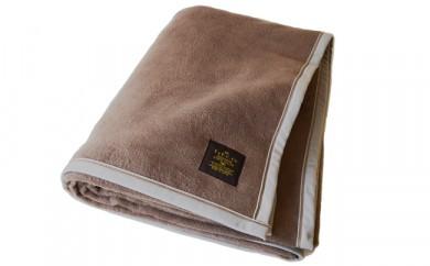 C152 クーベルチュール綿毛布 ブラウン