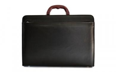 E056 AV-E001ビジネスバッグ/濃茶
