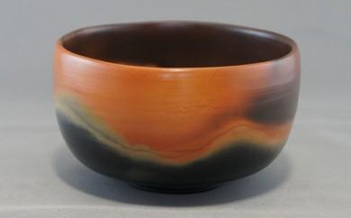 [№5907-0064]赤穂雲火焼 抹茶茶碗