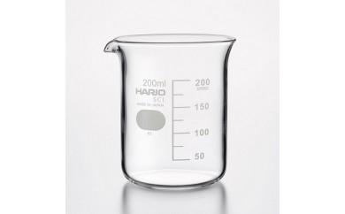 BD37_HARIO 理化学ガラス製品 ビーカー8個セット