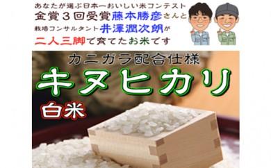 [№5753-1096]播磨N-1GP金賞農家!藤本勝彦さんのキヌヒカリ白米約4.5kg