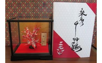 b_01 桑名の千羽鶴和紙取扱所 桑名の千羽鶴を飾る No.1