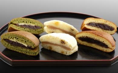 [№5746-0081]梅月菓子舗【3種のどら焼セット】