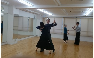 AL-3 社交ダンス初心者パック1 チケット4回分