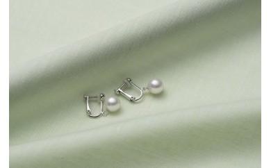 真珠品評会入賞常連のオーハタパールが作る海の宝石 アコヤ真珠ゆれるイヤリング
