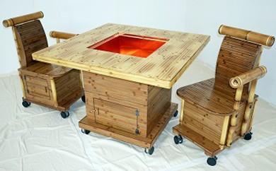 90-3 二段式火鉢テーブルセット