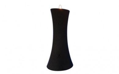 [№5922-0292]相模製作所 セーフティキャンドルスタンド(黒)6.5×13cm