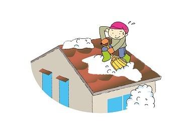 E7701 屋根の雪下ろし代行サービス(作業員2名)