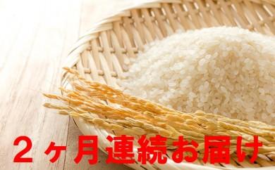 [№5822-0130]【2ヶ月連続】名田の荘コシヒカリ10kg