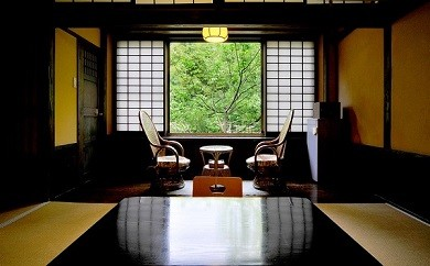 K5-0602 【黒川温泉】御客屋ペア宿泊券