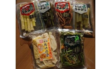 A30-753 国産山菜水煮セット(小)