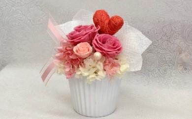 O-7 【母の日】花器アレンジメント(ピンク)