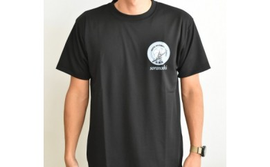 B-156  空の駅  オリジナルTシャツ(ブラック)【5,000pt】