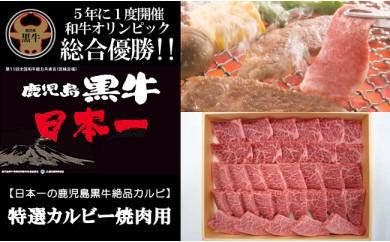 B073.日本一の鹿児島黒牛絶品カルビ