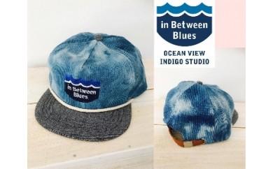 IBB17 海陽町の海と空と藍の青が作った【藍染CAP/iBBロゴ Ver.】 サイズフリー