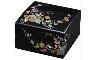 輪島塗 宝石箱(りんどう蒔絵)