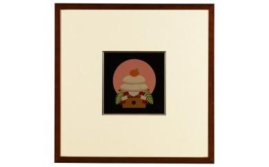 輪島塗 漆芸額(1月)