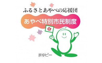 AW02 京都・綾部のふるさと応援団「あやべ特別市民」会員券 【30000pt】