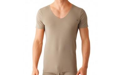 【受付一時停止】BF28 【グンゼ】(紳士) UネックTシャツ(U首)2枚組【L】【20000pt】