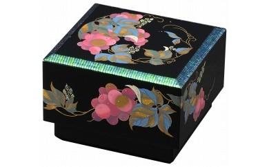 輪島塗 宝石箱(玉虫張ぶどう蒔絵)