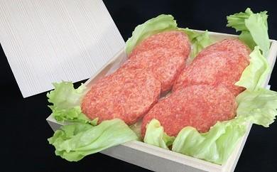 No.106 厳選!常陸牛(A5・A4等級)と坂東市産豚肉の特製合挽ハンバーグ(6個) ソース付