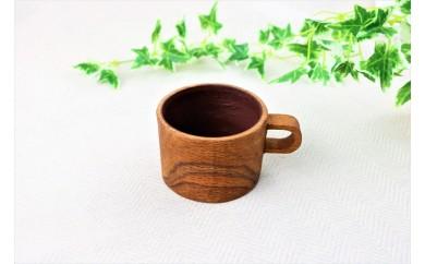 カシノキで作ったマグカップ(1カップ)