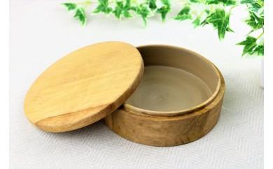 イタジイの木で作ったお弁当箱 まる(1つ)