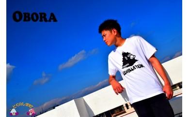 292 TOKUNOSHIMA発ブランド OBORA Tシャツ 【GORILLA ROCK】