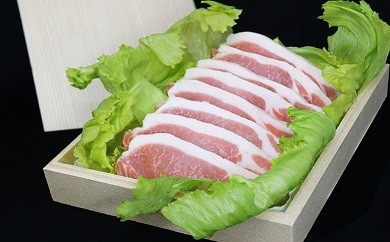 No.108 坂東市産 豚ロース切身 約900g