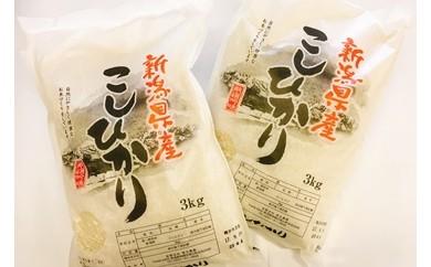 [B215]徳永農園の無洗米コシヒカリ6kg(3kg×2)