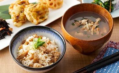 「陸前高田の夢貝(むかい)かぜ」ウニとエゾイシカゲ貝の和風スープ