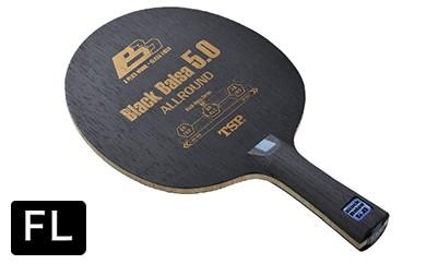 【Z-96】TSP製卓球ラケット ブラックバルサ5.0(FL)