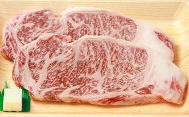 B-13 川合精肉店 黒毛和牛(福島牛)サーロインステーキ用500g