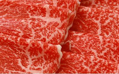 B-11 川合精肉店 黒毛和牛(福島牛)もも肉スライス900g