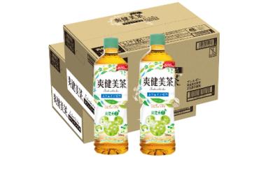 A-096 爽健美茶 600mlPET【2ケース】