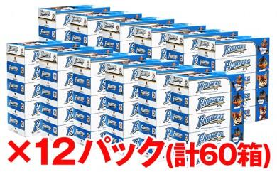 [№5746-0107]北海道日本ハムファイターズボックスティッシュ12パック(60箱)