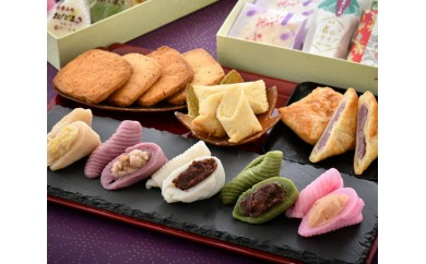 No.017 能登名物おだまきと和菓子の詰合せ