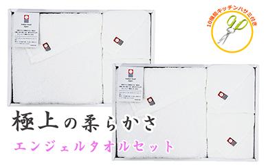 【60007】極上タオル天使のエンジェルプレミアムカラータオル2セット