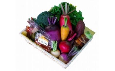CB06 月に一度は鎌倉野菜デー!季節の鎌倉野菜詰め合わせギフトセット(年12回)【360P】