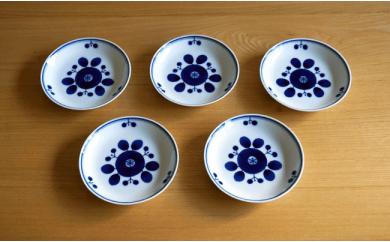 TA16 【BLOOM】ブルーム プレート(SS)ブーケ 5枚セット【白山陶器】