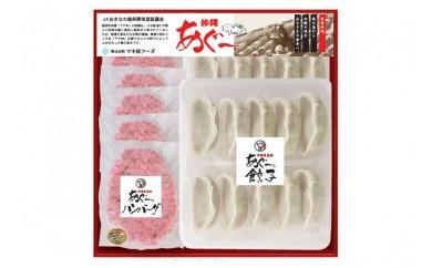 沖縄県産あぐー豚 ハンバーグ・餃子セット